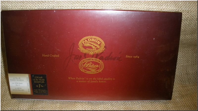 Padron Cigar of the Year Sampler Cigar Samplers